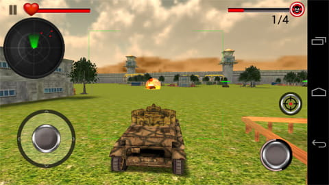 坦克世界大战 World War Tank Battle 3D v1.1截图
