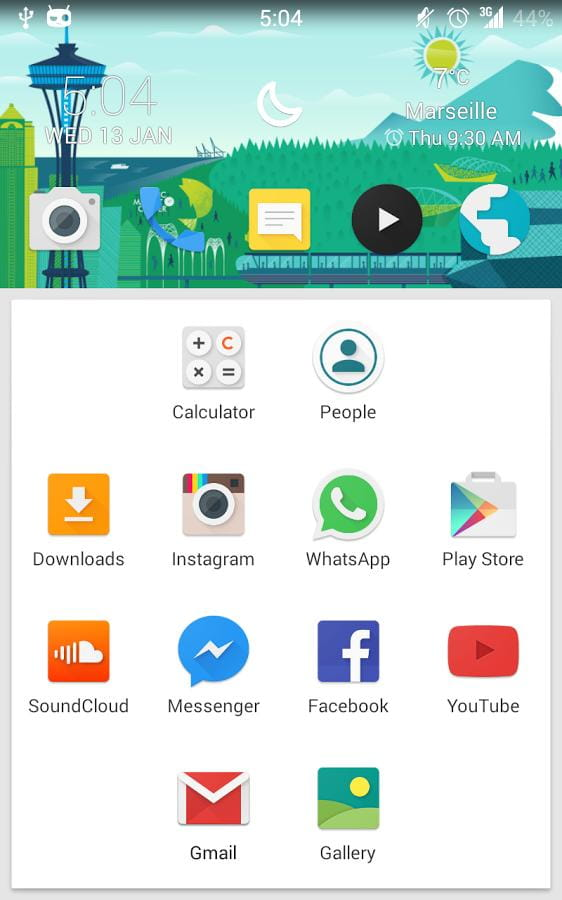 Solid启动器 Solid Launcher v3.0截图