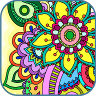 曼陀罗:着色书   Coloring for Adults   v2015.12.23