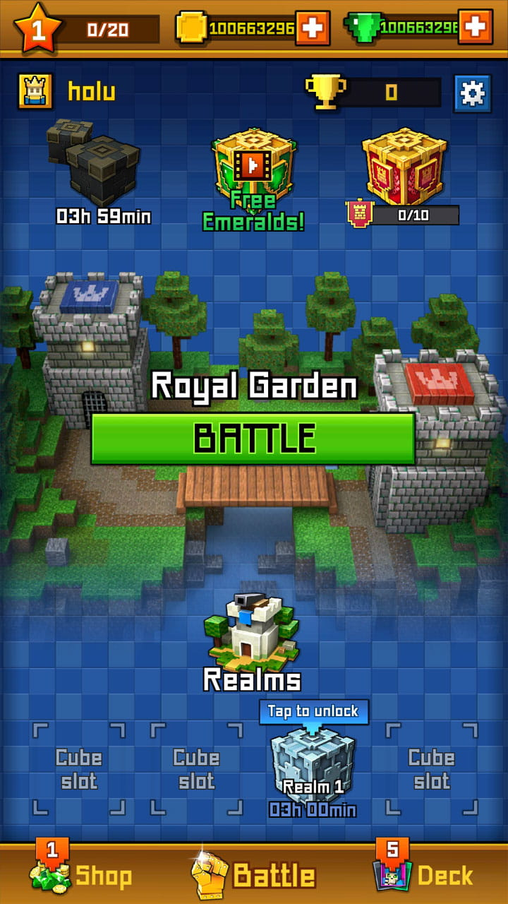 像素皇室战争 版 Craft Royale : Clash of Pixels  v3.41截图