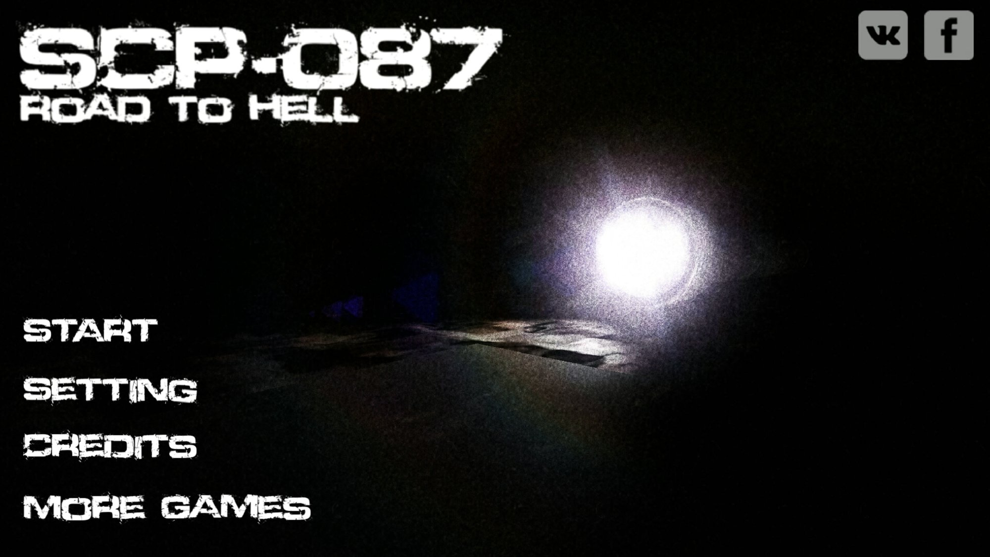SCP 087 Road to Hell v1.0截图