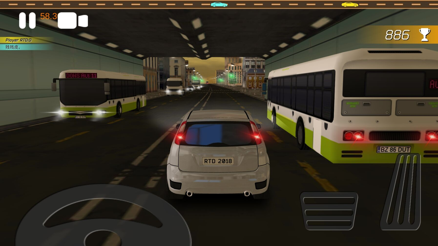 Real Traffic Driver Online v0.76截图