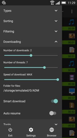 Advanced Download Manager官方客户端 v10.3截图